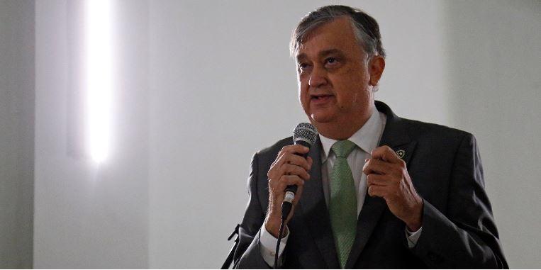 Presidente Durcesio Mello discursa em General Severiano