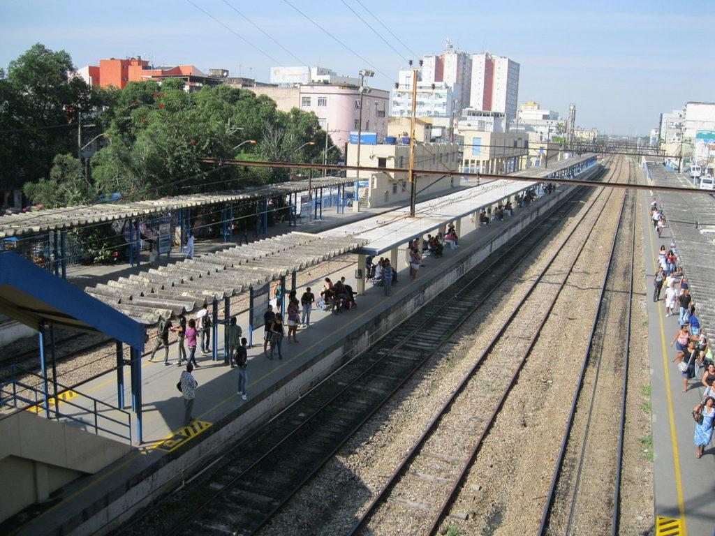 Estação de trem em Nilópolis