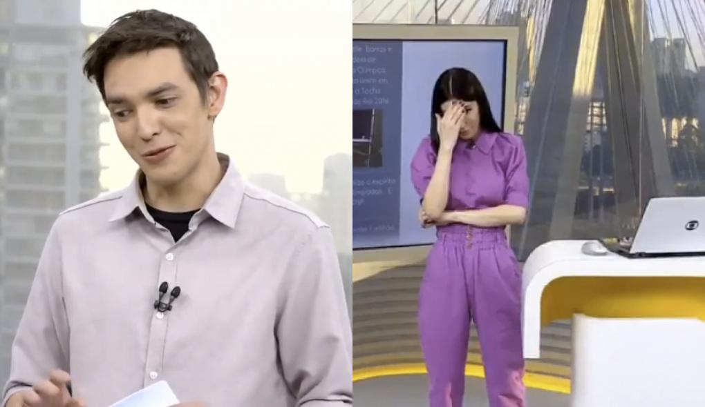 """Alessandro Jodar e Michelle Barros no """"Bom Dia SP"""" desta terça-feira (10)"""