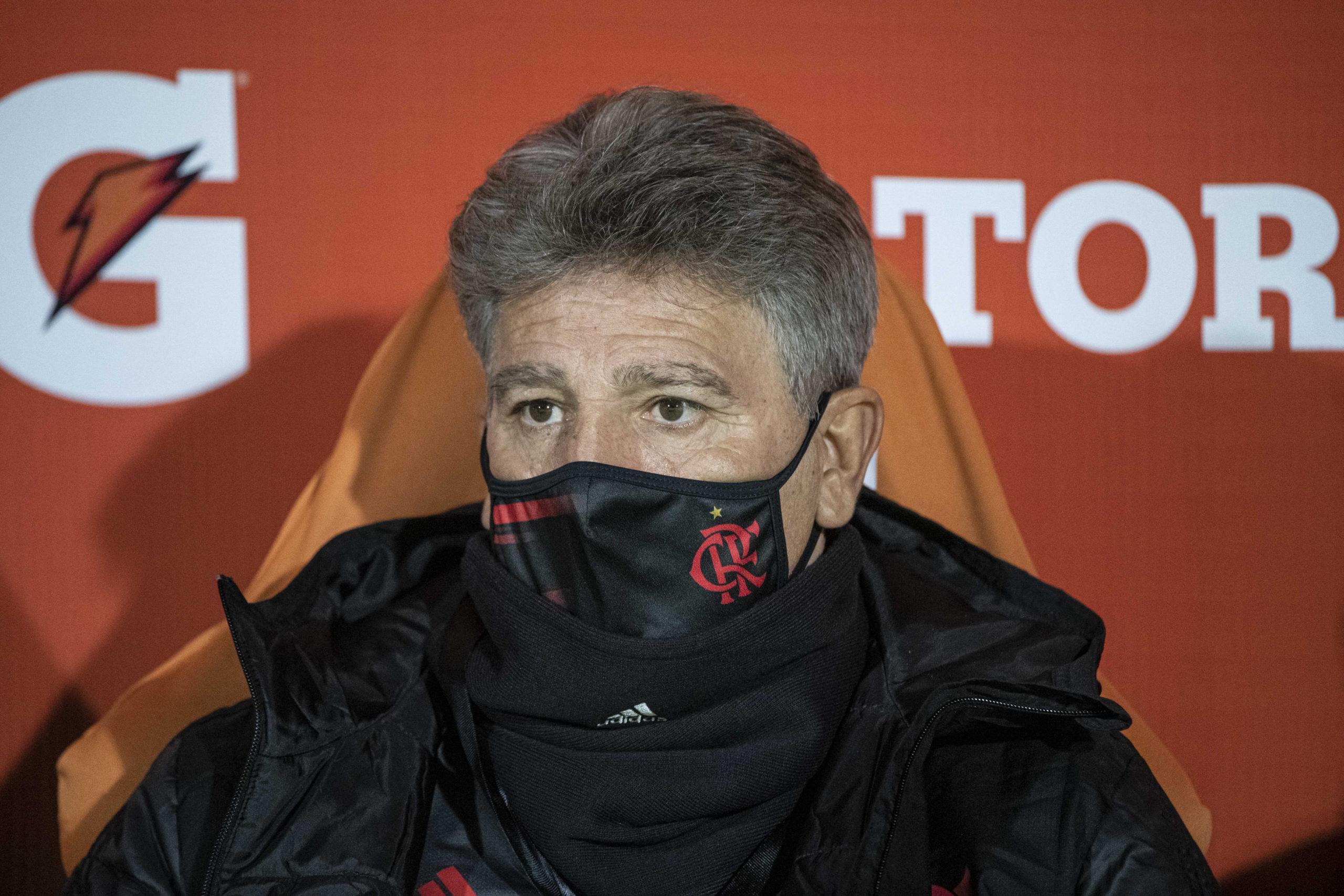 Renato Gaúcho elogiou a atuação do Flamengo contra o Olimpia