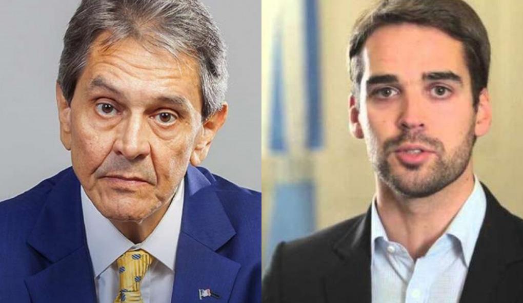 Roberto Jefferson e Eduardo Leite
