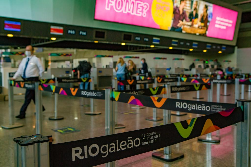 Imagem do Aeroporto Tom Jobim