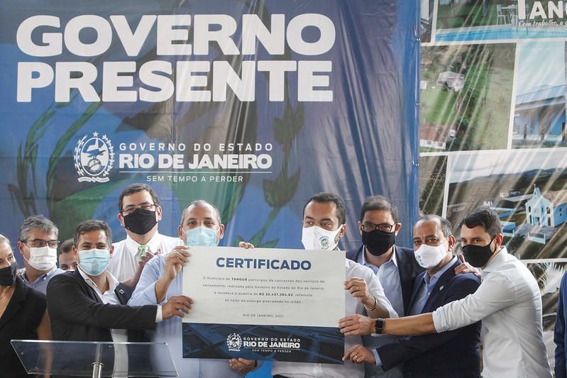 Imagem do governador do Rio e prefeitos