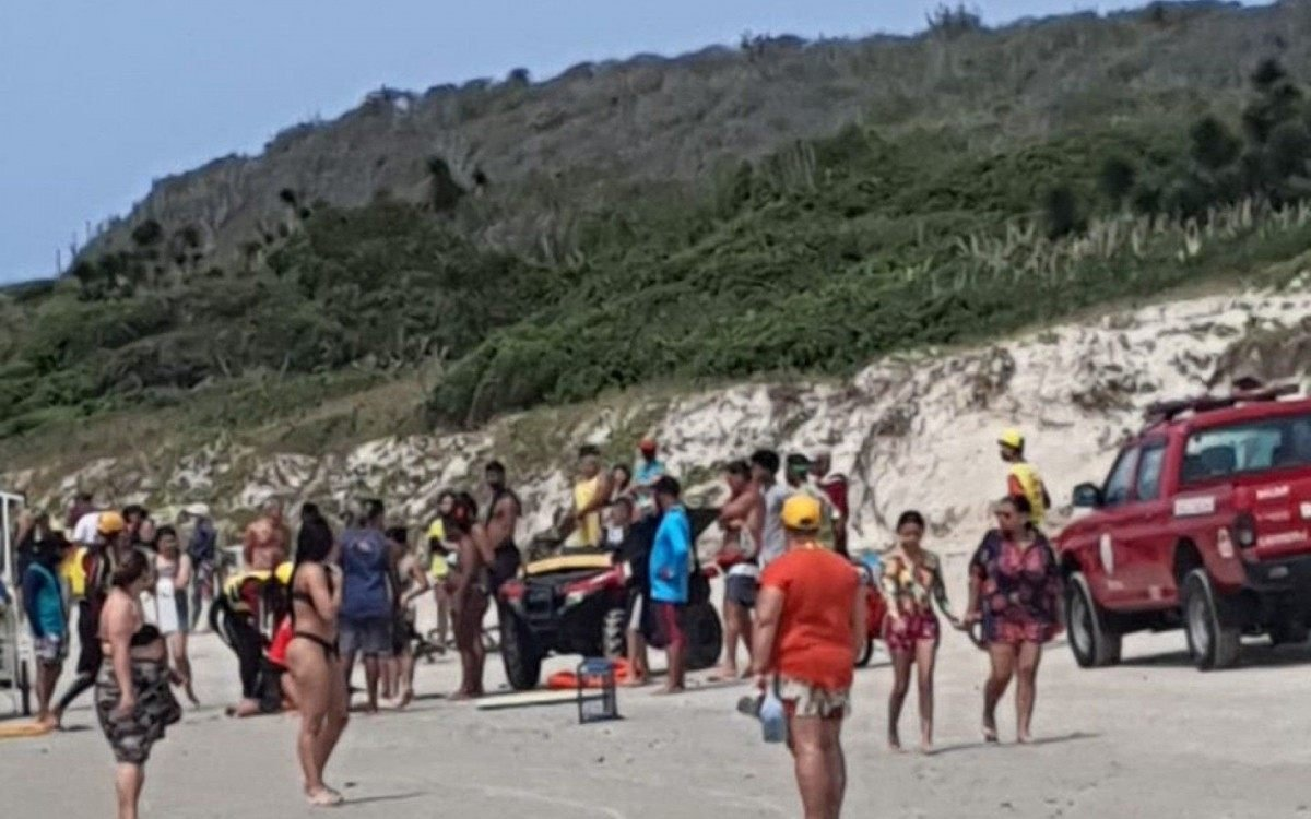 Três homens morrem afogados em praia de Cabo Frio