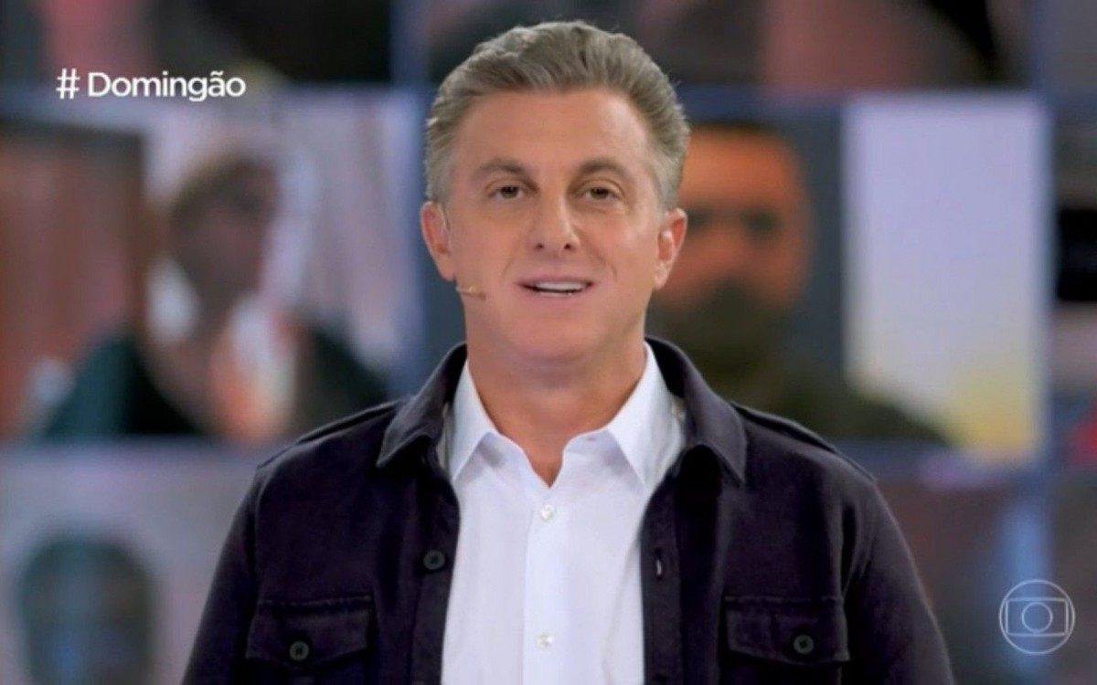 Luciano Huck no Domingão da Globo