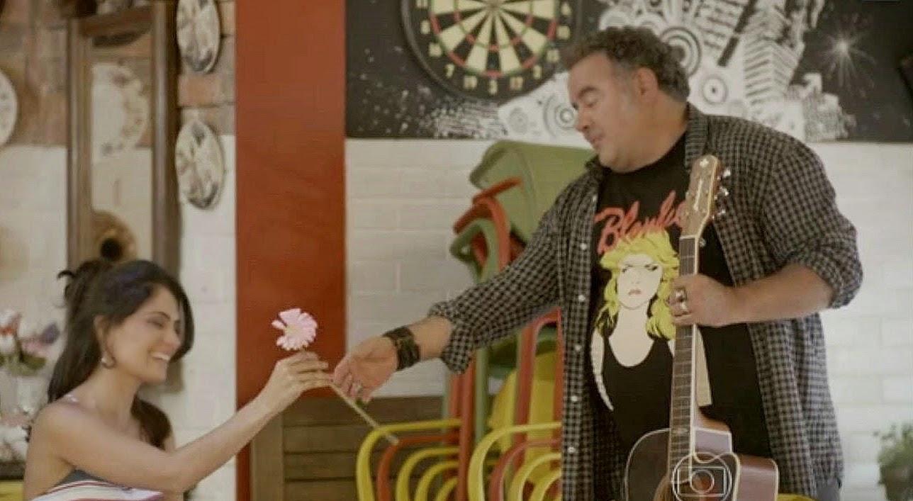 Nando convida Delma e Tomtom para ir à festa na Ribalta (Divulgação)