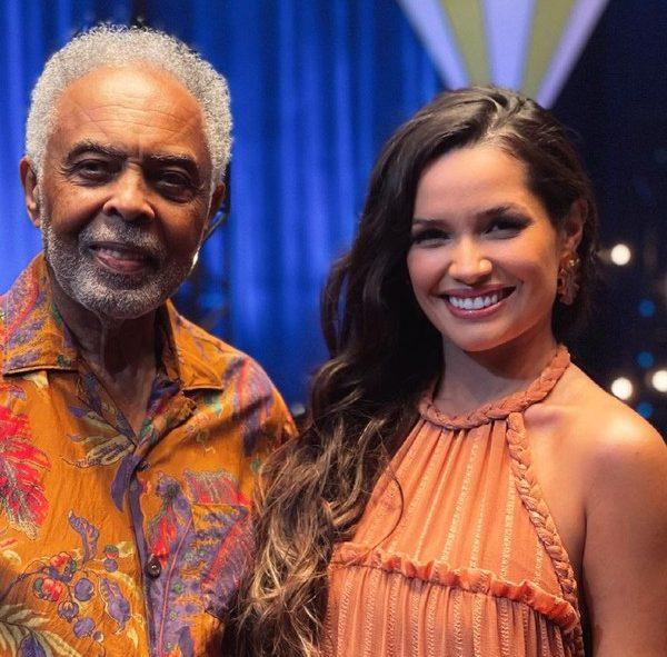 Gilberto Gil e Juliette Freire