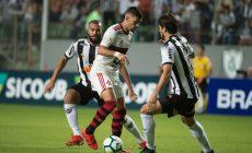 Flamengo vacila e perde para o Atlético-MG em Minas Gerais