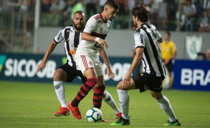 Flamengo vacila e perde para o Atlético-MG