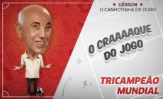 Gérson sobre equipe do Vasco: 'Tem que treinar dois toques'