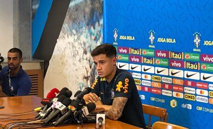 Coutinho elogia Fernandinho: 'Líder no nosso grupo'