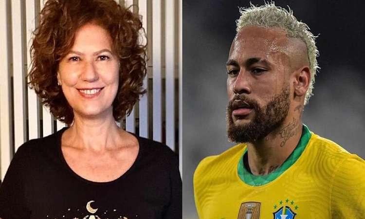 Patrícia Pillar e Neymar