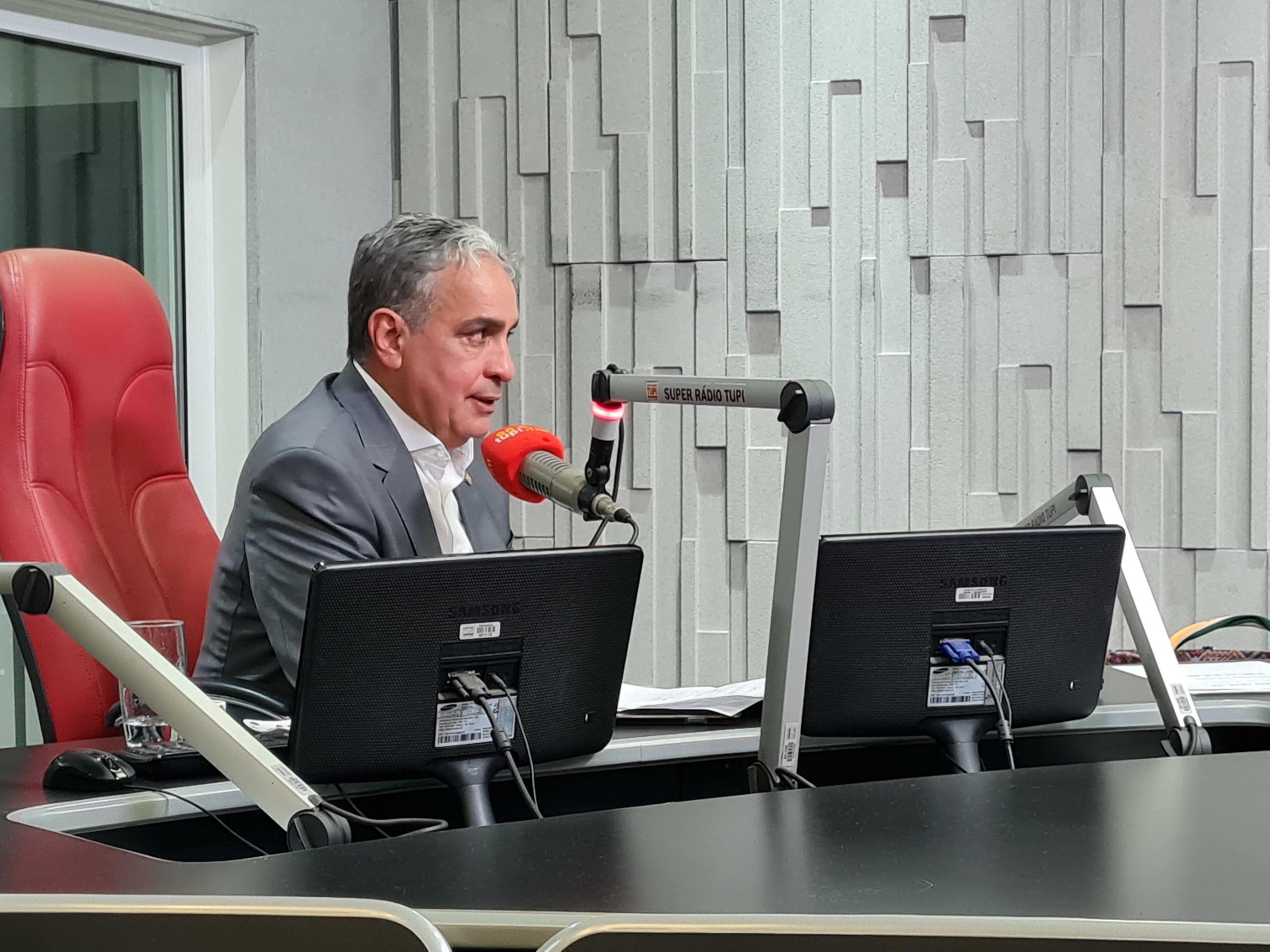 André Ceciliano, presidente da Alerj