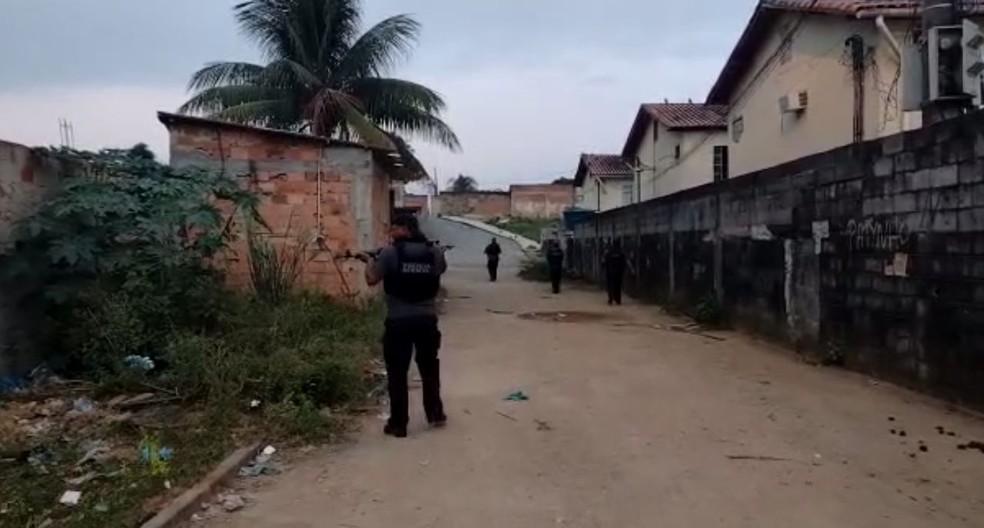 Polícia realiza operação
