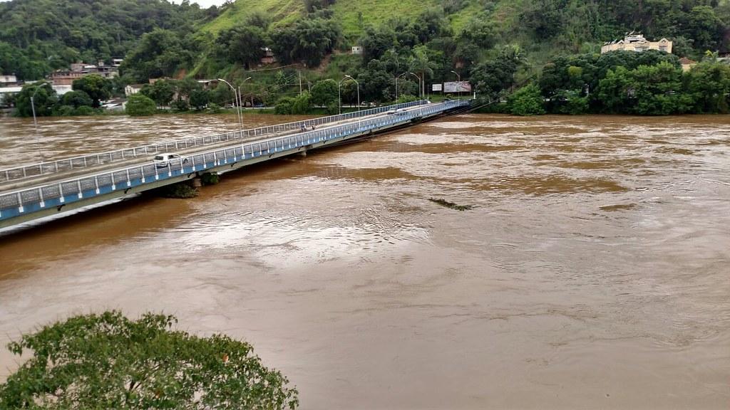 Ponte Nilo Peçanha, em Barra Mansa, no Sul Fluminense. Foto: Reprodução Internet