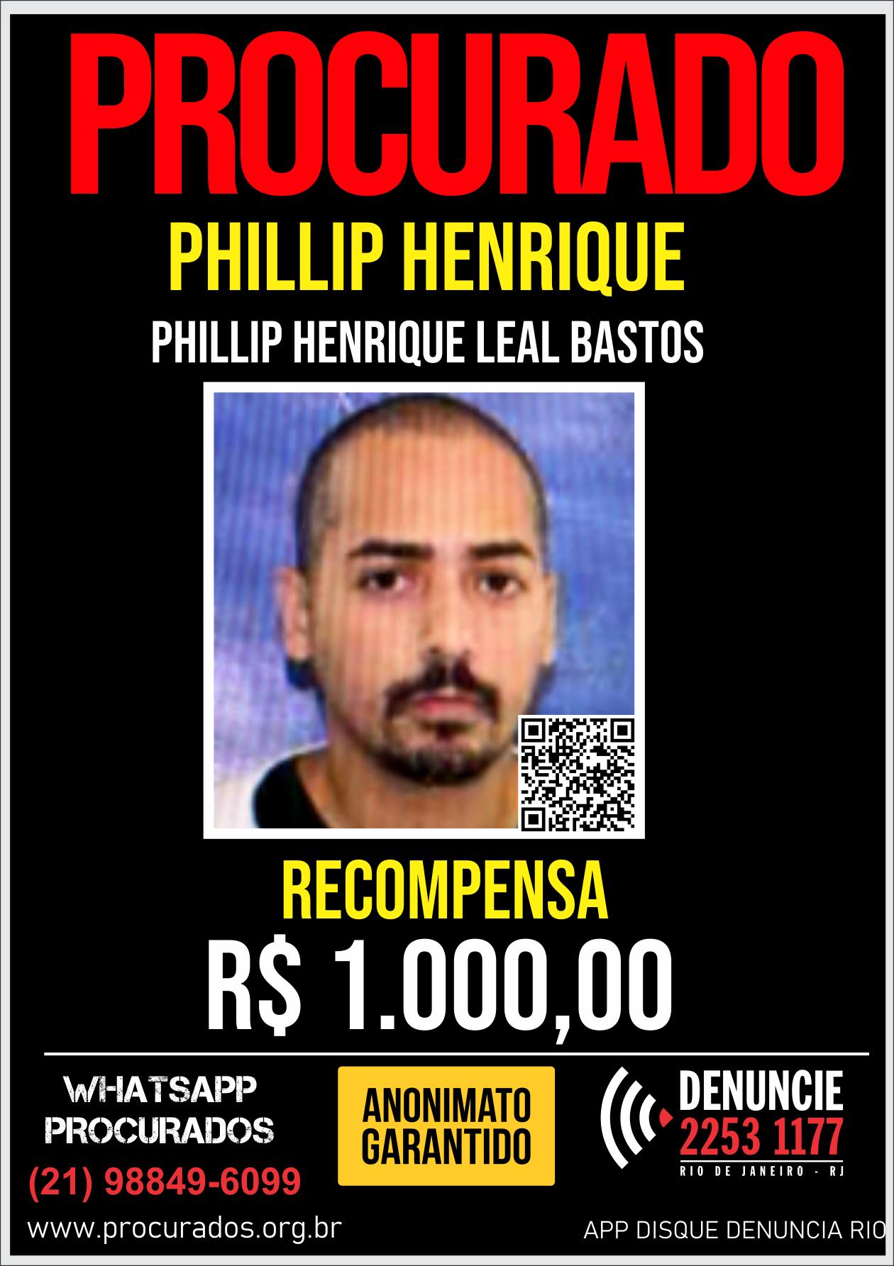cartaz com a foto do procurado