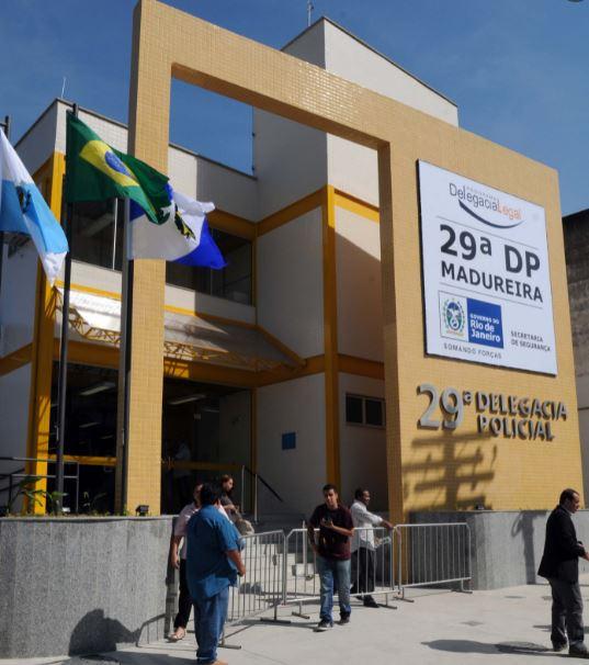 Na imagem, 29ª Delegacia de Polícia de Madureira