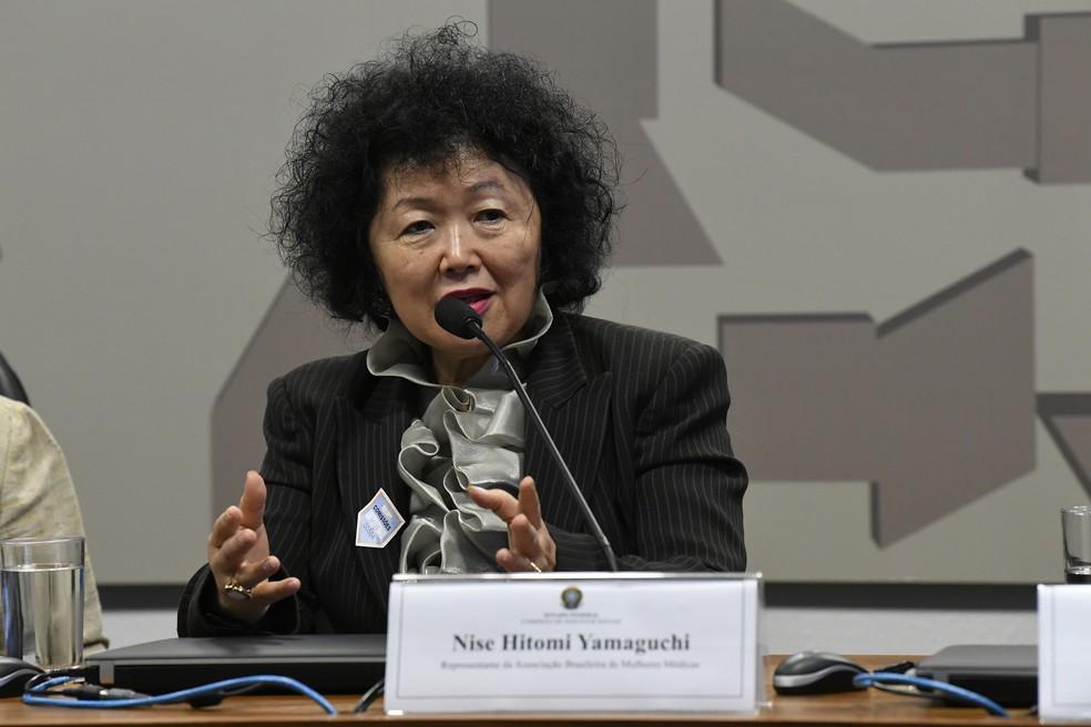 Nise Yamaguchi, médica que prestará depoimento na CPI da Covid