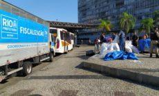 Prefeitura fiscaliza ação de comércio irregular no Centro do Rio