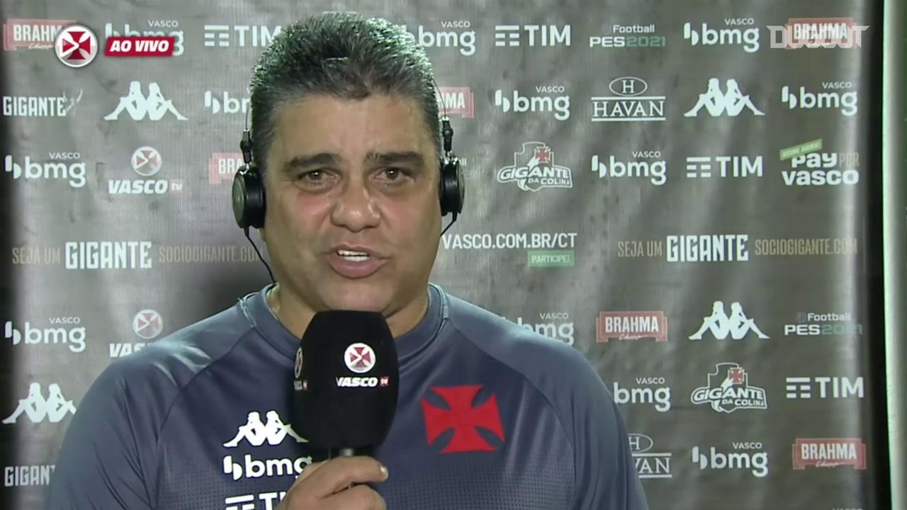 Marcelo Cabo concede entrevista coletiva