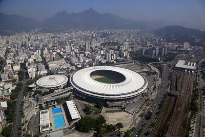 Imagem do estádio do Maracanã