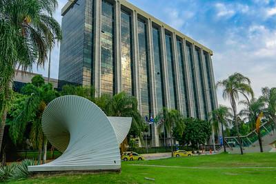 Fachada prédio da Prefeitura do Rio na Cidade Nova