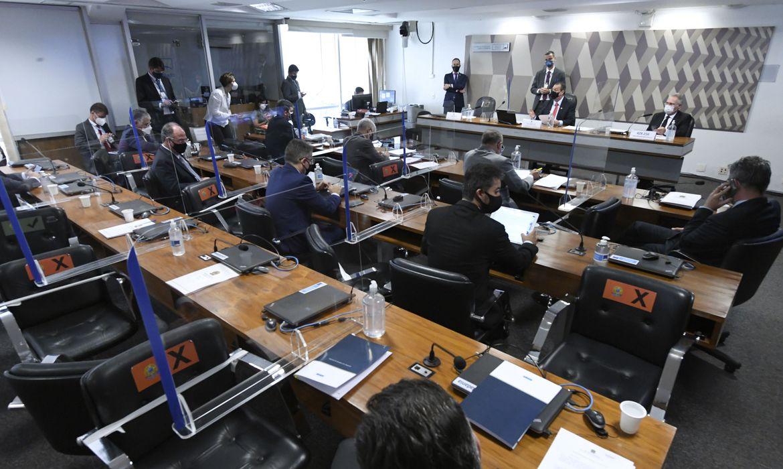 Sala de audiência do Senado