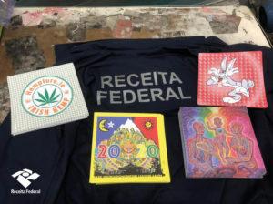Receita Federal apreende mais de R$ 8 milhões em drogas sintéticas no Aeroporto do Galeão