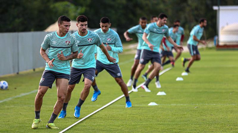 Fluminense treina no CT