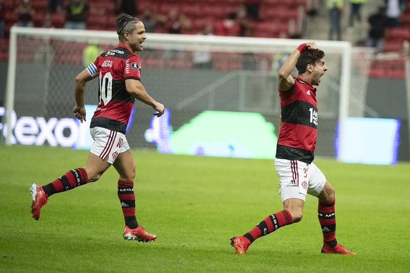 Flamengo vence o Defensa y Justicia por 4 a 1 pela Libertadores