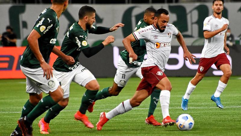 Fluminense perde para o Palmeiras por 1 a 0 no Allianz Parque, pelo Campeonato Brasileiro
