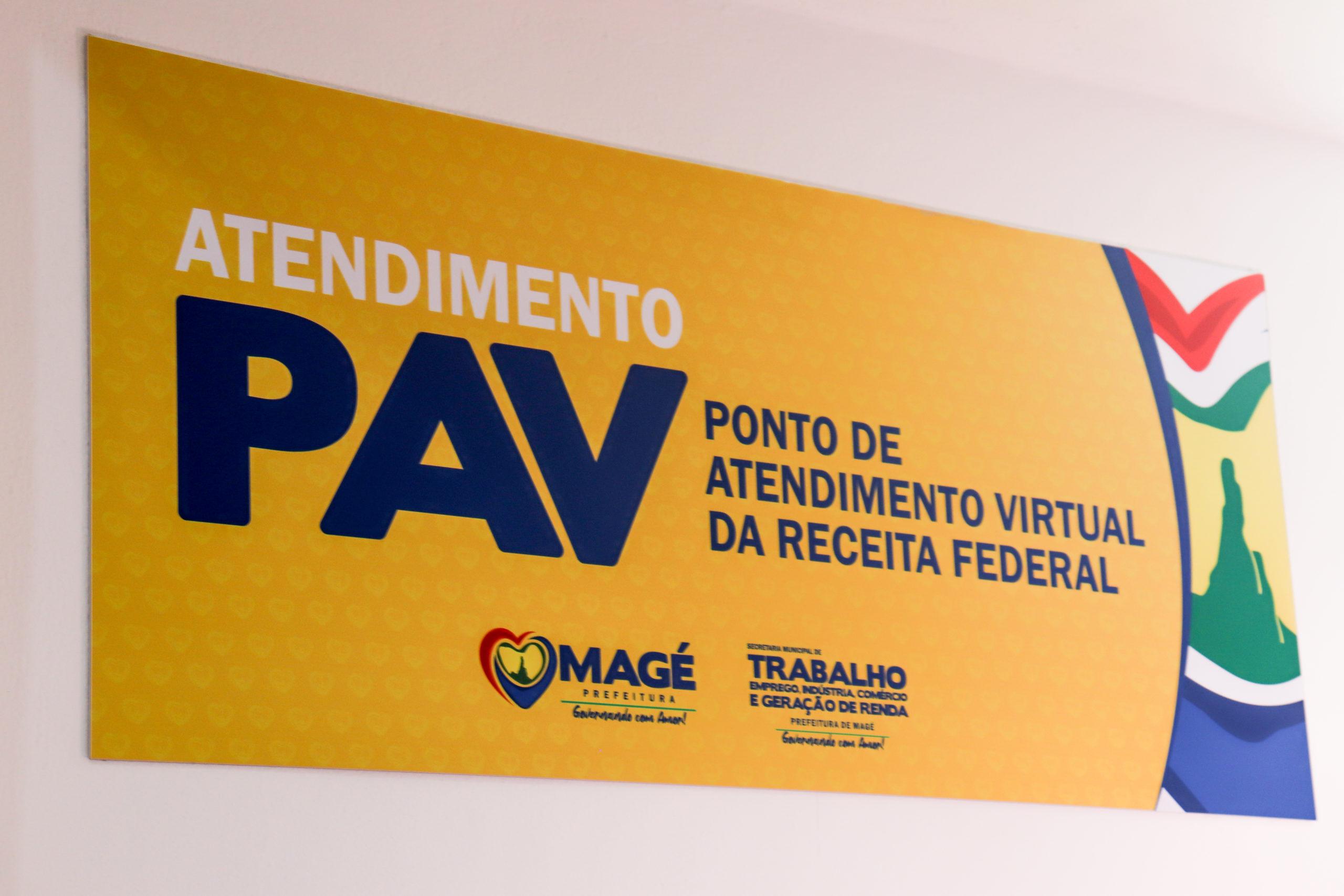 Imagem de um banner da Receita Federal