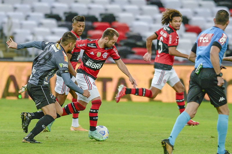 Flamengo goleia o ABC por 6 a 0 na Copa do Brasil