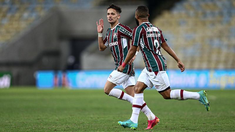 Gabriel Teixeira comemora gol da classificação sobre o Criciúma pela Copa do Brasil