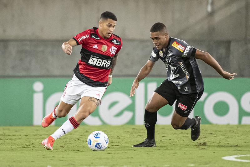 Flamengo vence o ABC por 1 a 0 em Natal e avança às quartas de final da Copa do Brasil