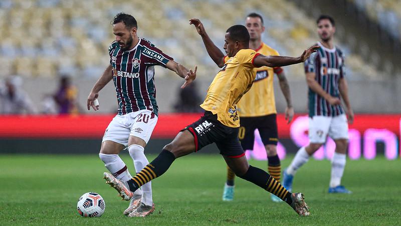 Fluminense fica só no 2 a 2 com o Barcelona-EQU nas quartas de final da Libertadores