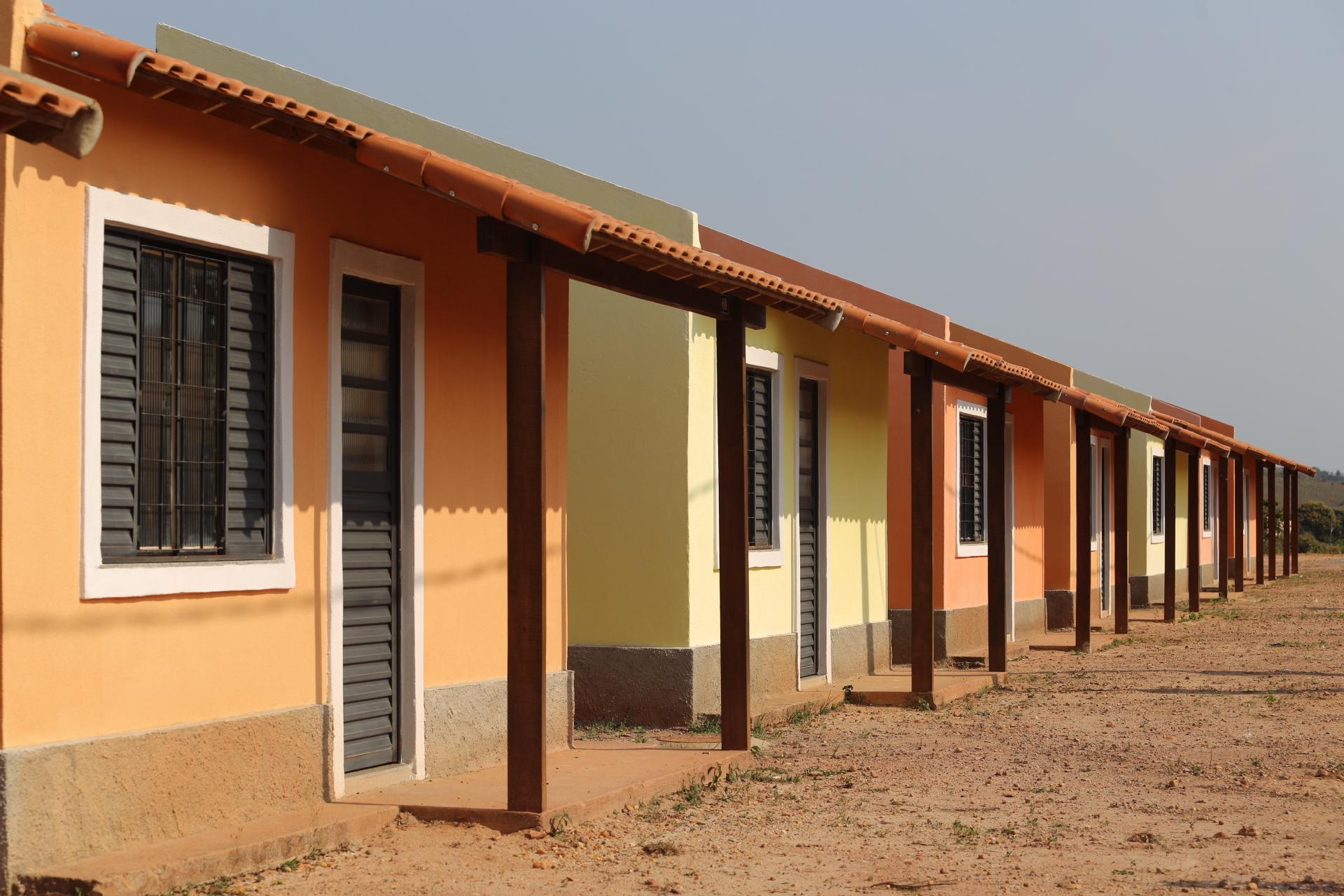 Imagem de um conjunto habitacional