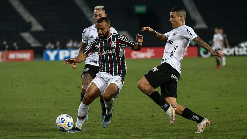 Fluminense perde por 2 a 1 para o Atlético-MG pelo jogo de ida das quartas de final da Copa do Brasil