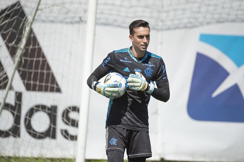 César em treino pelo Flamengo