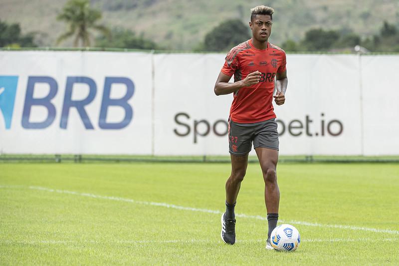 Bruno Henrique pode desfalcar o Flamengo mais uma vez no Brasileirão