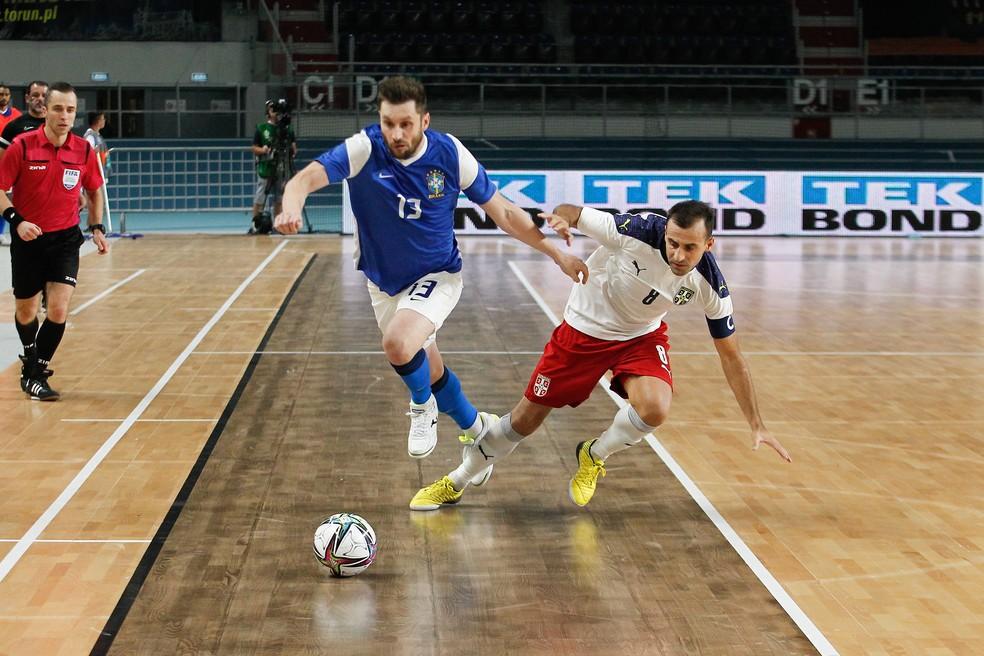 Seleção Brasileira finaliza preparação para a Copa do Mundo de Futsal, na Lituânia
