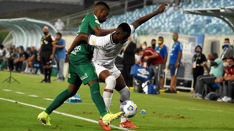 Fluminense sai na frente, mas cede empate ao Cuiabá e fica no 2 a 2 pelo Campeonato Brasileiro