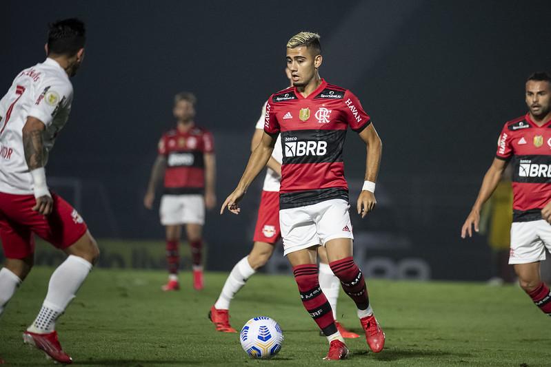 Andreas Pereira foi titular diante do Bragantino