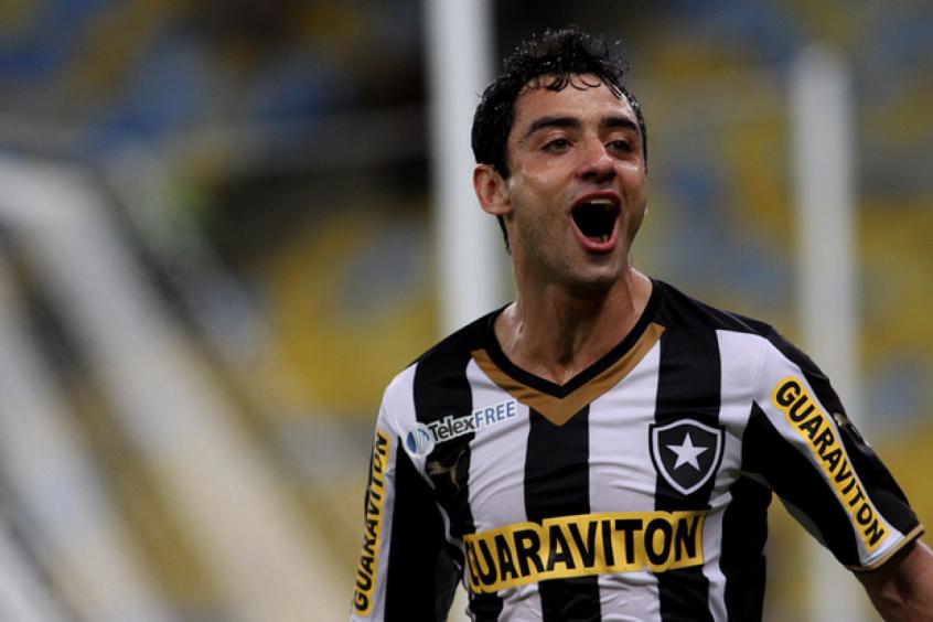 Daniel Corrêa defendendo a camisa do Botafogo