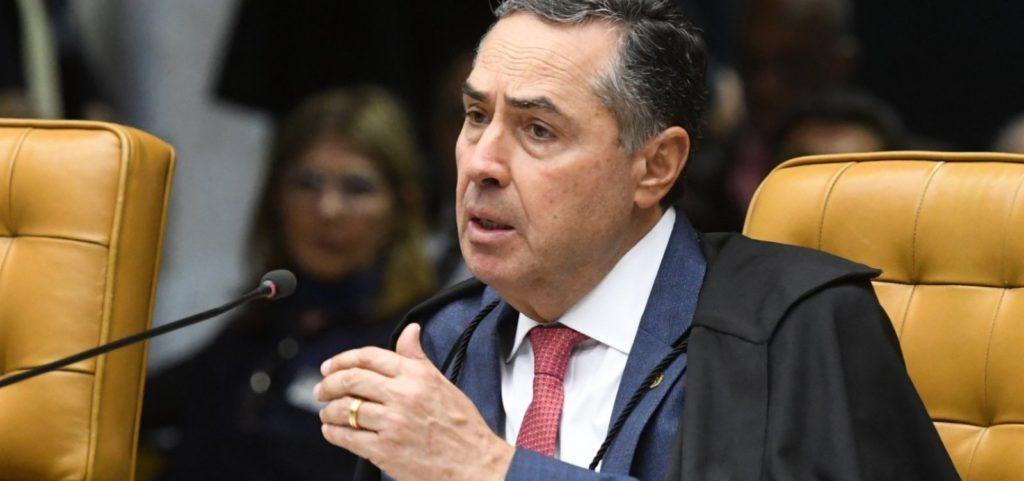 Imagem do ministro Barroso