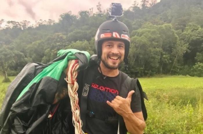 Turista Eduardo Geovane, morreu após cair de parapente