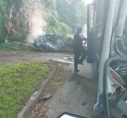 Motorista morre em grave na Costa Verde Fluminense