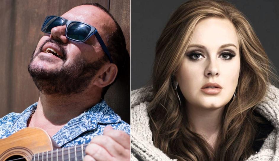 Montagem da Adele e Toninho Geraes