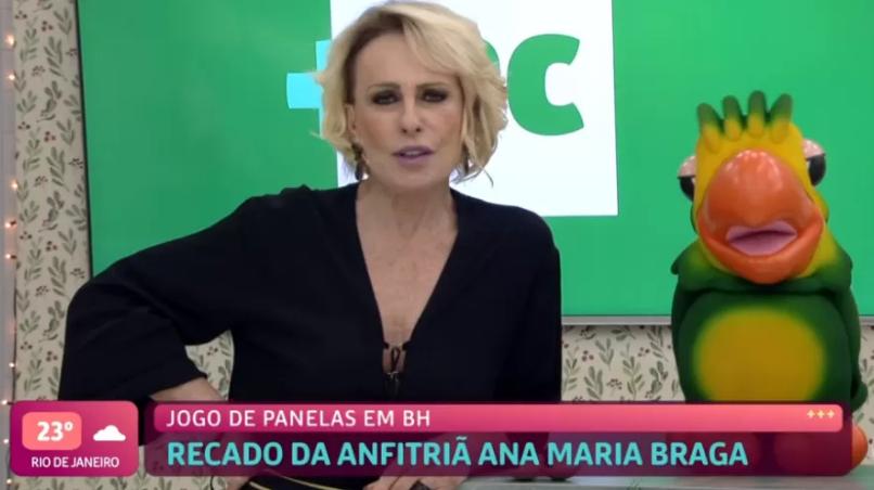 Ana Maria em VT com Louro José