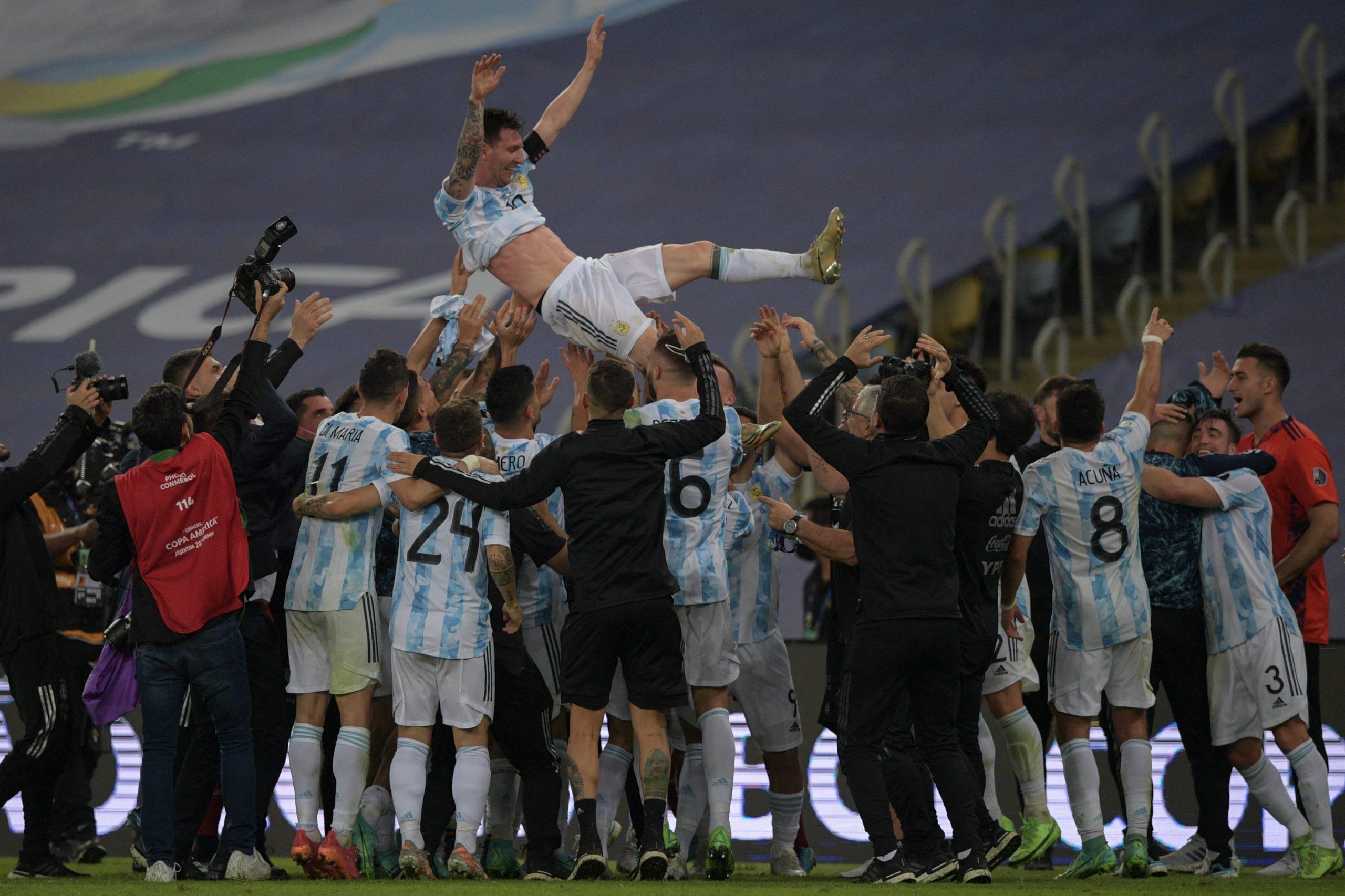 Argentina conquista a Copa América no Maracanã